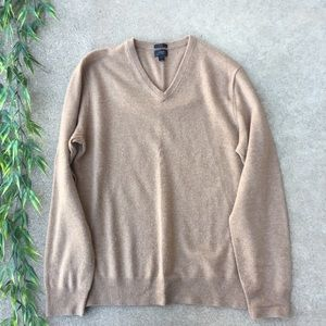 J. Crew Italian Cashmere V Neck Sweater